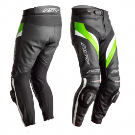 RST Tractech Evo 4 CE Green Leather Jeans